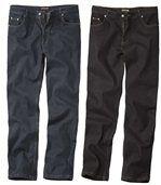 Lot de 2 Jeans Bleu et Noir preview1