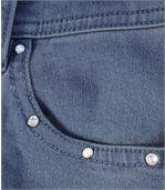 Pohodlné capri nohavice zo strečovej džínsoviny