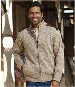 Trykotowa bluza podszyta polarem Outdoor preview2