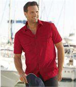Výrazná červená košeľa preview1