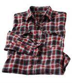 Kockovaná flanelová košeľa Rodeo Ranch