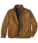 Pikowana kurtka ze sztucznego zamszu Canadian Nature preview1