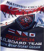 Men's White Yachting Club Piqué Polo Shirt preview2