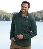 Zestaw 2 swetrów z mikropolaru z kołnierzem z suwakiem preview2