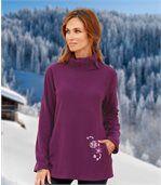 Tunikový sveter z mikroflísu preview1