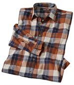 Podzimní flanelová košile preview2