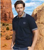Pack of 2 Men's Legendary Arizona Polo Shirts - Blue Navy Blue preview2