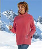 Women's Winter Coral Jumper preview1