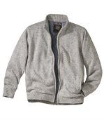 Men's Grey Zip Up Jacket