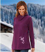 Tunikový sveter z mikroflísu preview2