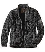 Pletený sveter sflísovou podšívkou preview3