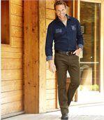 Spodnie Chinosy Twill Mountain preview3