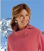Women's Winter Coral Jumper preview3
