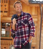 Men's Checked Flannel Shirt - Winter Valley  preview1