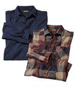 Zestaw 2 flanelowych koszul preview1