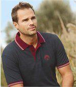 Sada 2 polo triček Sport Chic z piké pleteniny preview3