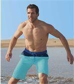 Men's Blue Swim Shorts  preview1