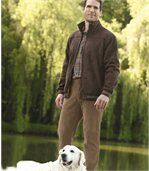 Men's Brown Stretchy Corduroy Trousers preview2