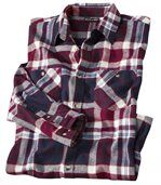 Men's Checked Flannel Shirt - Winter Valley  preview2
