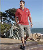 Men's Light Grey Cargo Shorts  preview2