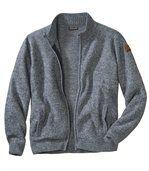 Pletená vesta Casual se zapínáním na zip preview2