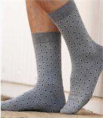 Sada 3 párůbarevných ponožek preview2