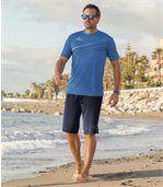 Sada 2 bermud Tropical Surf preview2