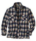 Fleecová outdoorová svrchní košile preview2