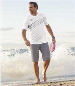 Sada 2 bermud Tropical Surf preview3