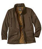 Men's Brown Parka Coat preview2
