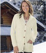 Long Gilet Tricot Confort preview2