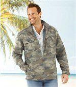 Veste Homme Kaki Camouflage preview1