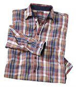 Pestrofarebná kockovaná košeľa preview2