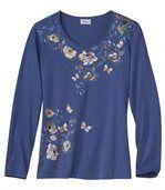 Tričko sjaponskými kvetmi preview2