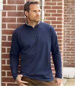 2er-Pack Poloshirts mit RV-Kragen preview3