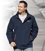 Men's Navy Blue Windbreaker preview2