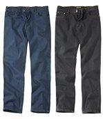 1 blaue Jeans & 1 schwarze Jeans preview1