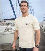 2er-Pack T-Shirts mit Henleykragen preview2
