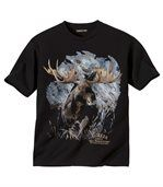 Tričko s potlačou losa