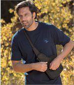 Men's Brown Cross-Body Bag preview2