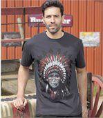 T-Shirt mit Indianermotiv preview1