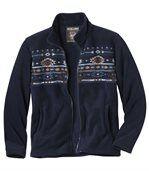 Men's Navy Blue Jacket - Fleece - Colorado Legends  preview2