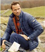 Men's Blue Atlas® Outdoor Lightweight Padded Jacket