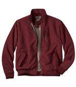 Men's Lightweight Burgundy Jacket