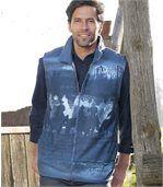 Flísová vesta bez rukávov Blue Canyon preview1