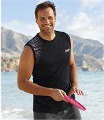 Zestaw 2 t-shirtów bez rękawów Beach Sport preview2
