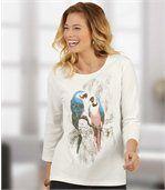 Tričko s motivy papoušků preview1