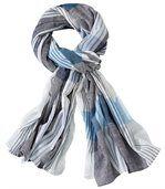 Tulband sjaal met kreukeffect preview1