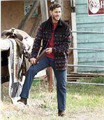 Pohodlné strečové džínsy Plus