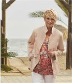 Women's Pink Sahara Summer Jacket